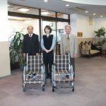 栃木県遊協福祉ヤクルト贈呈式